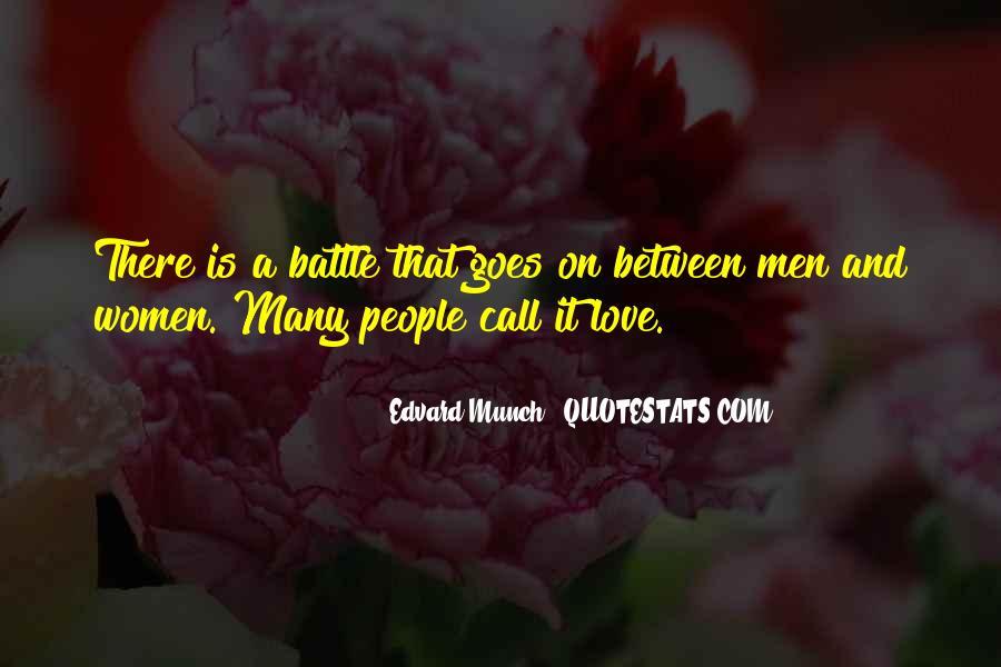 Edvard Munch Quotes #298653
