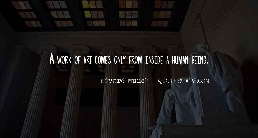 Edvard Munch Quotes #667088