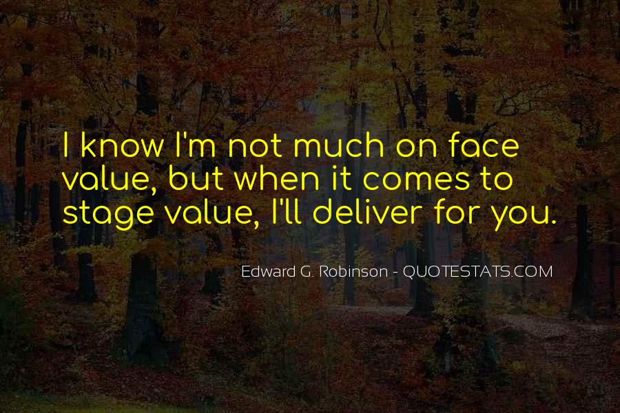 Edward G. Robinson Quotes #16911