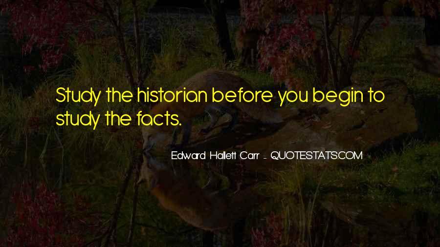 Edward Hallett Carr Quotes #637908