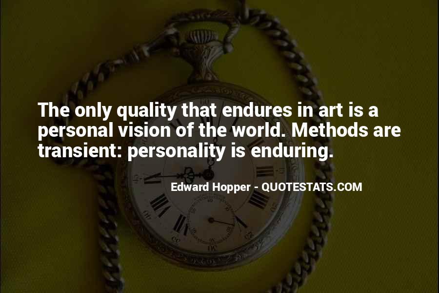 Edward Hopper Quotes #1338716