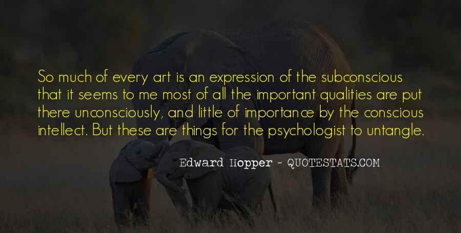 Edward Hopper Quotes #1381835