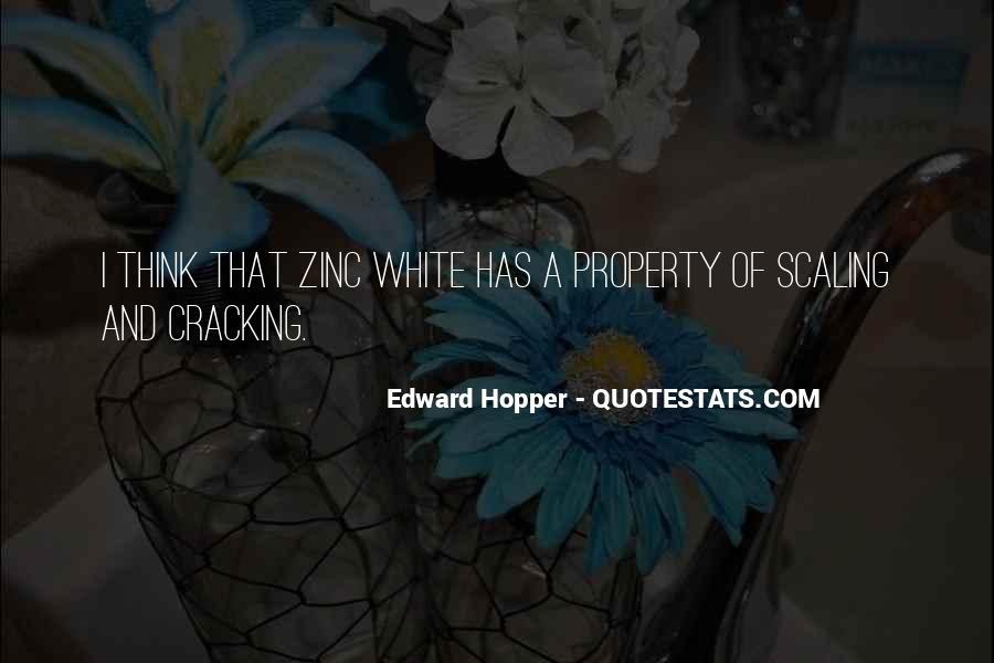 Edward Hopper Quotes #141478