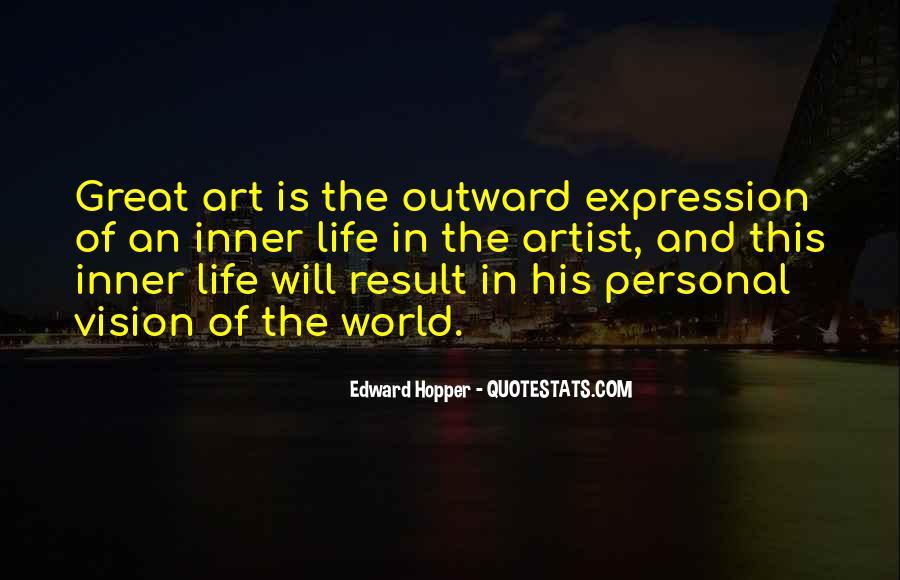 Edward Hopper Quotes #1493693