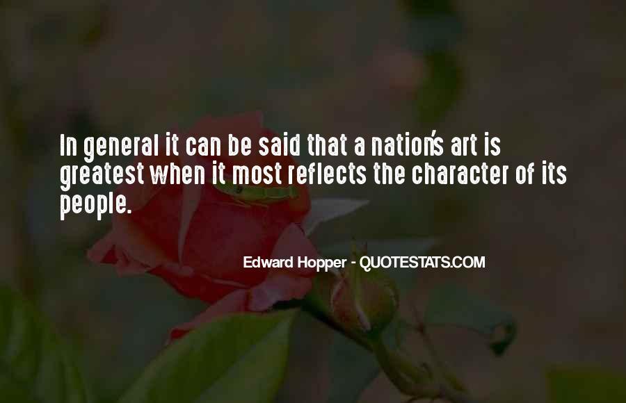 Edward Hopper Quotes #1759128