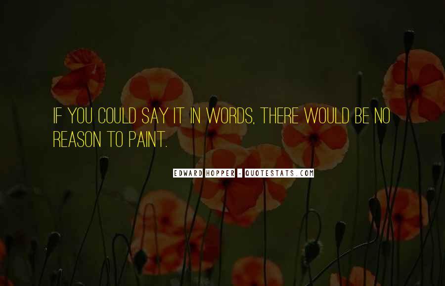 Edward Hopper Quotes #1811273
