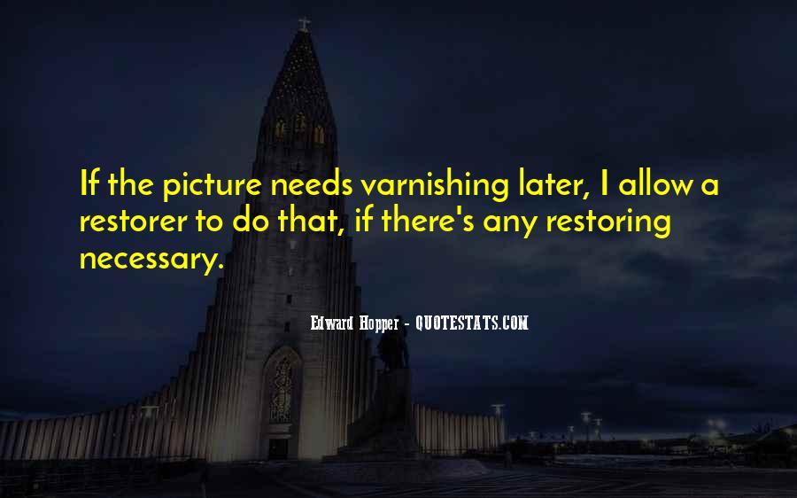 Edward Hopper Quotes #1854889