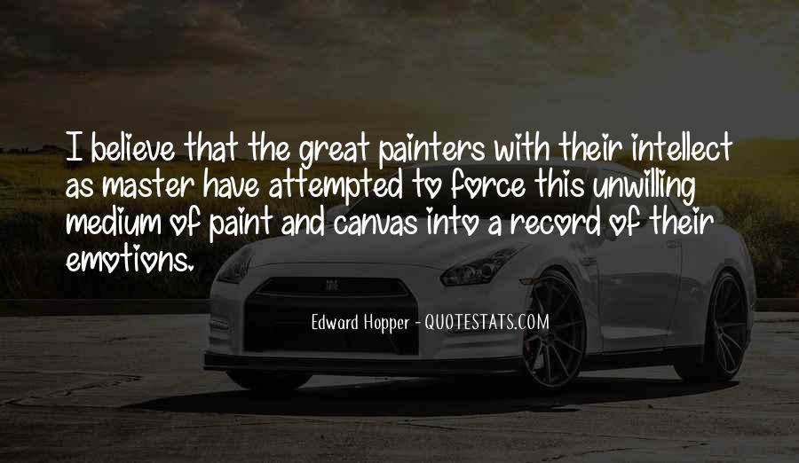 Edward Hopper Quotes #231056
