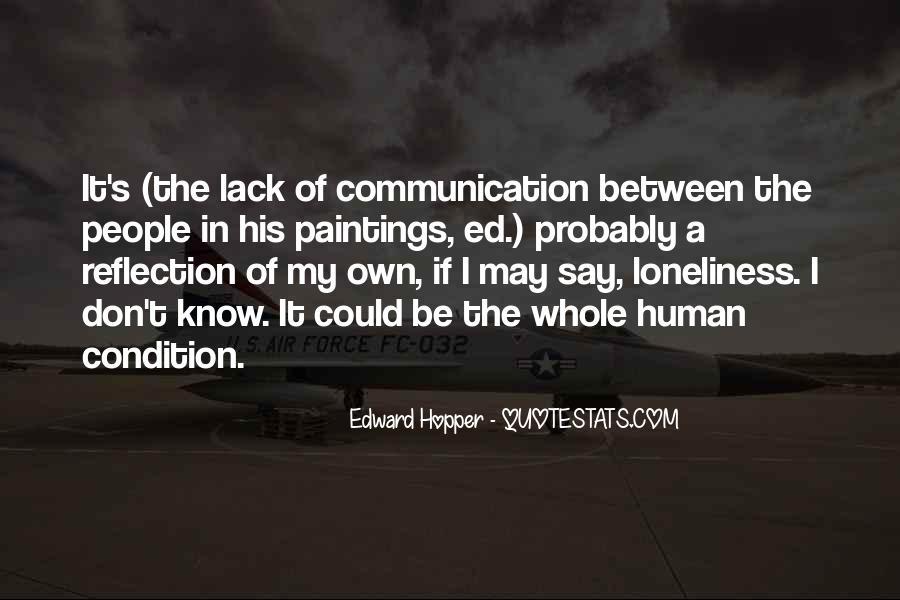 Edward Hopper Quotes #257816