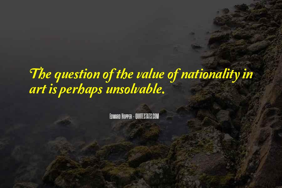 Edward Hopper Quotes #30419