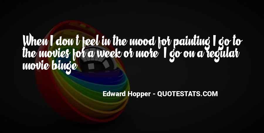 Edward Hopper Quotes #367118
