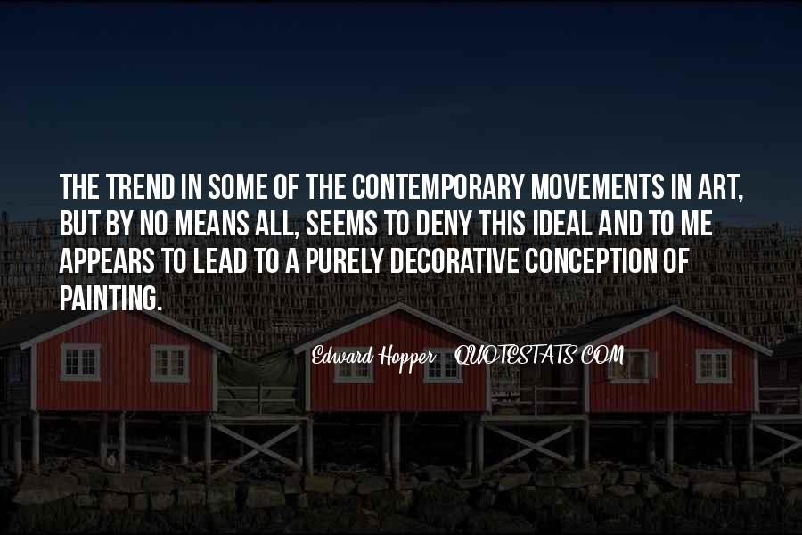 Edward Hopper Quotes #400082