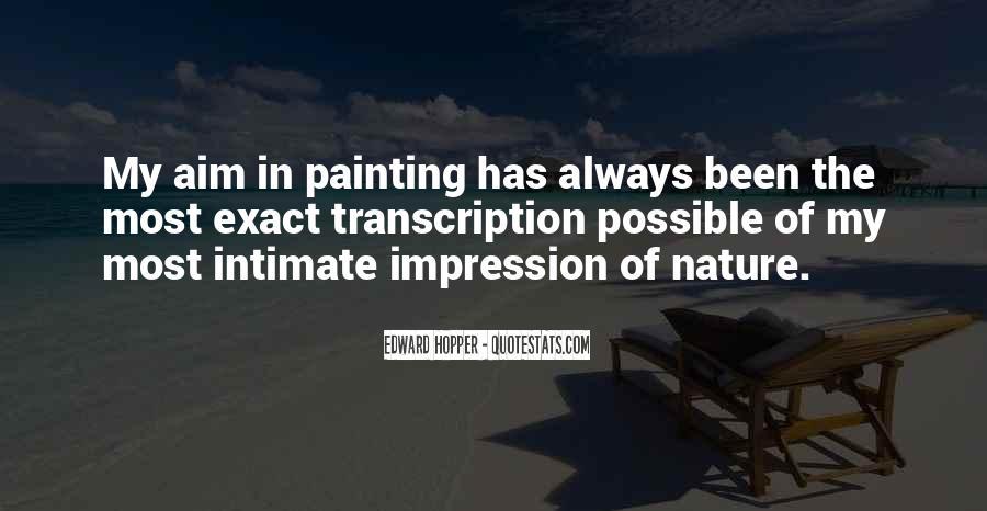 Edward Hopper Quotes #594930