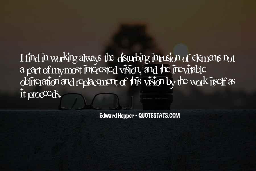 Edward Hopper Quotes #66412