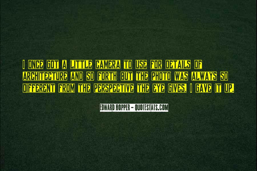 Edward Hopper Quotes #700001