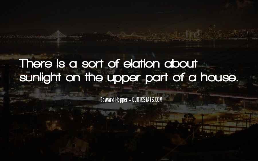 Edward Hopper Quotes #751890