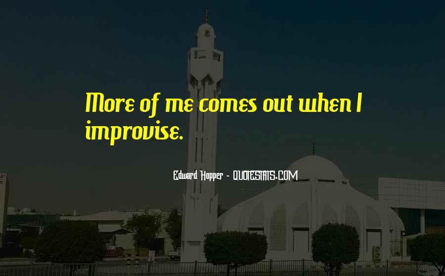 Edward Hopper Quotes #87421