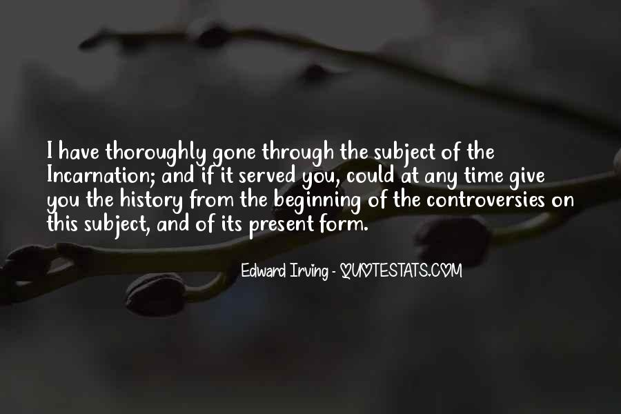 Edward Irving Quotes #565851