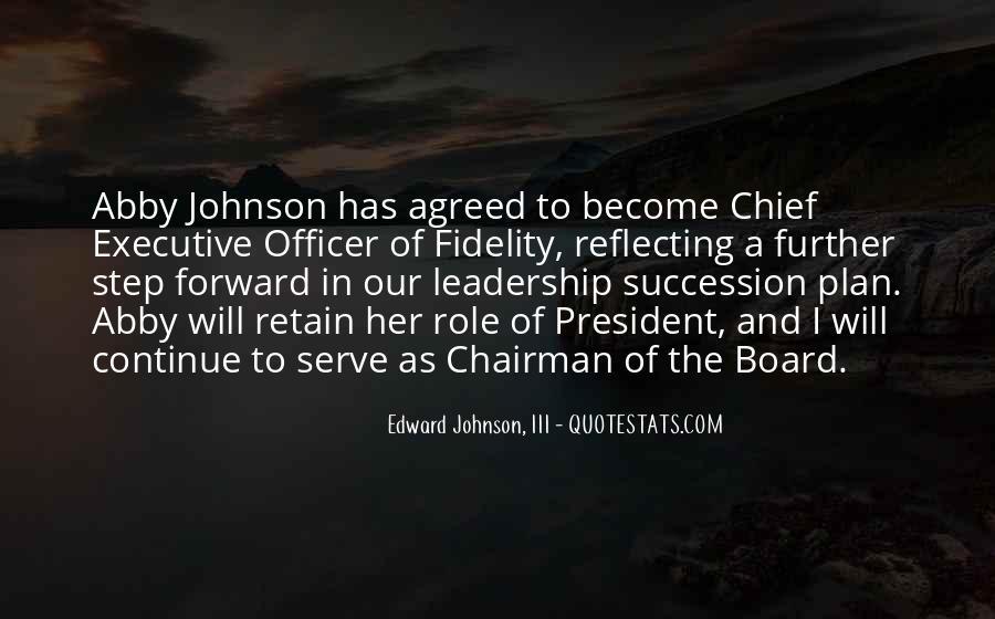 Edward Johnson, III Quotes #366260