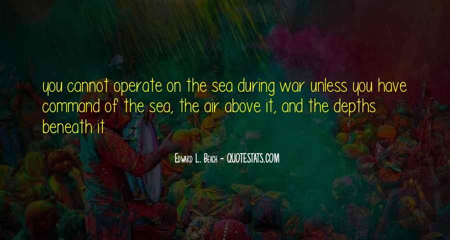 Edward L. Beach Quotes #883419