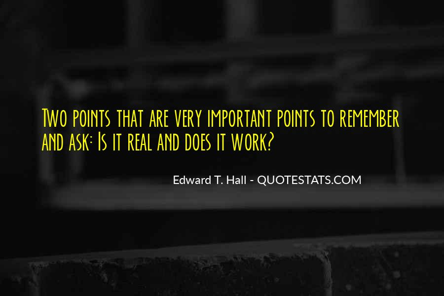 Edward T. Hall Quotes #133850