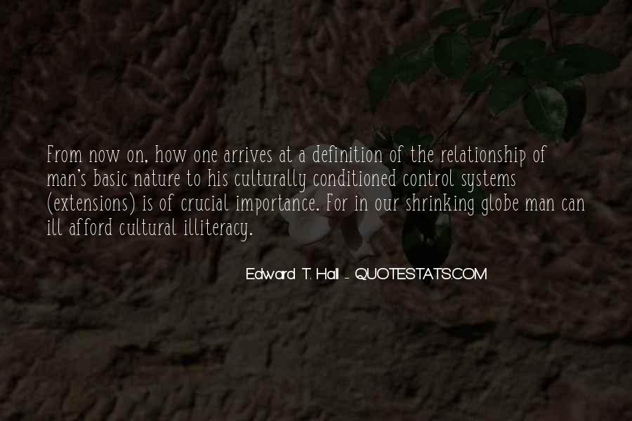 Edward T. Hall Quotes #1639405