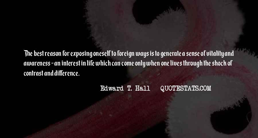 Edward T. Hall Quotes #454945