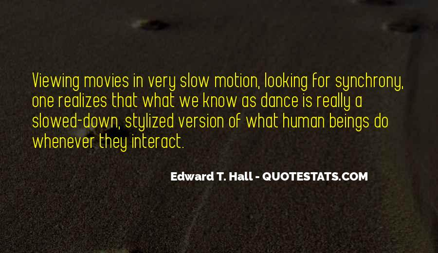 Edward T. Hall Quotes #787958