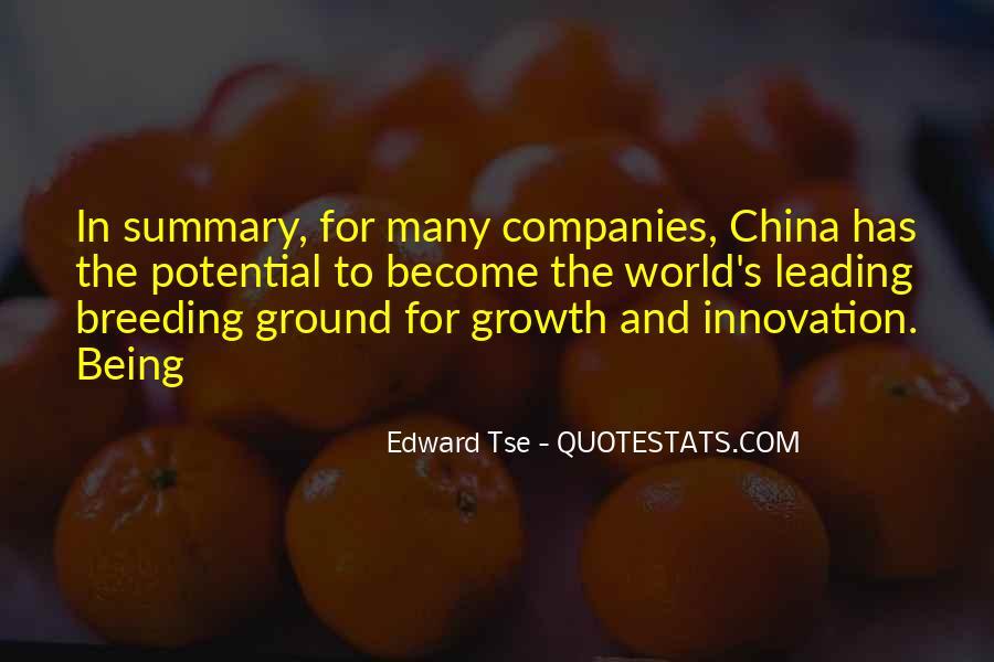 Edward Tse Quotes #1741491