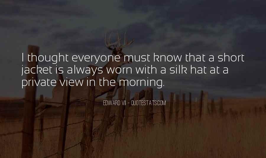 Edward VII Quotes #896359