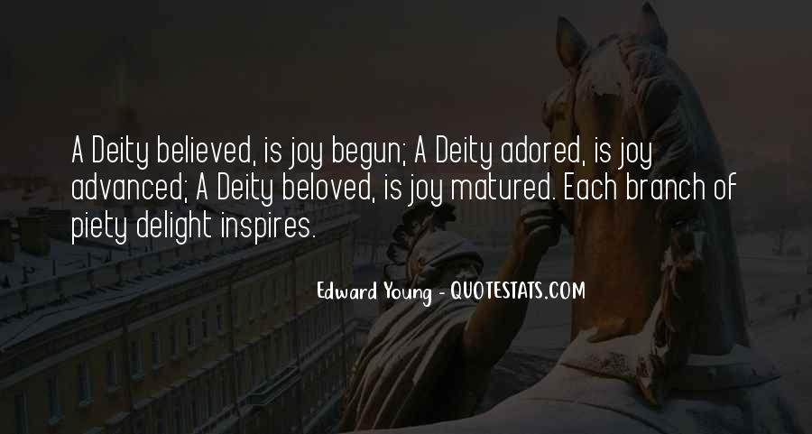 Edward Young Quotes #1109076