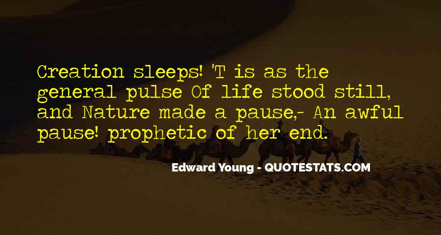 Edward Young Quotes #1217565