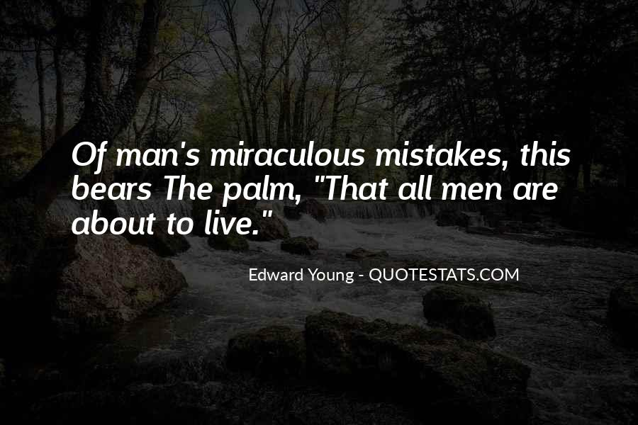 Edward Young Quotes #1254888