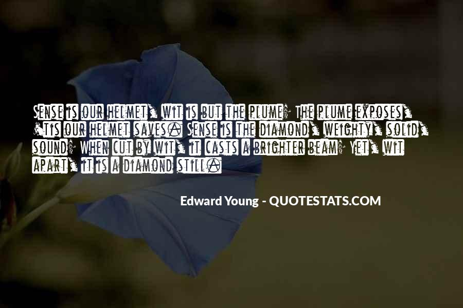 Edward Young Quotes #1675986
