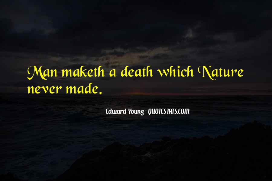 Edward Young Quotes #1691351