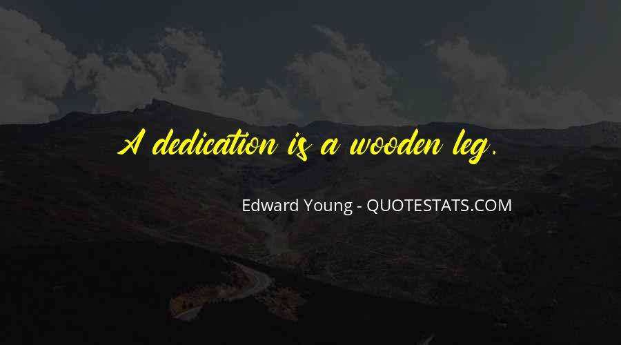 Edward Young Quotes #1861881
