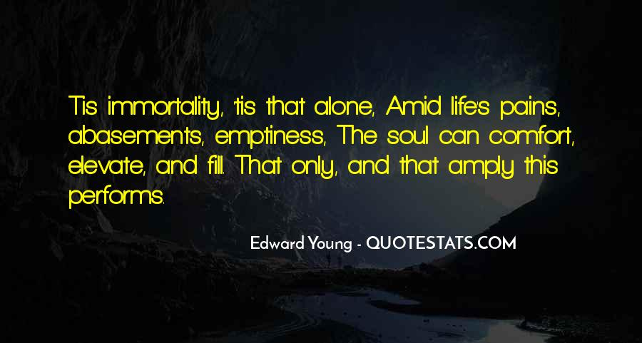 Edward Young Quotes #362285