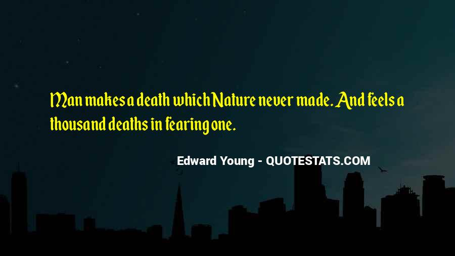 Edward Young Quotes #575667