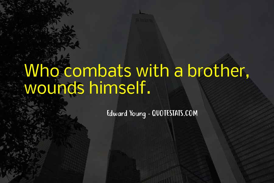 Edward Young Quotes #870825