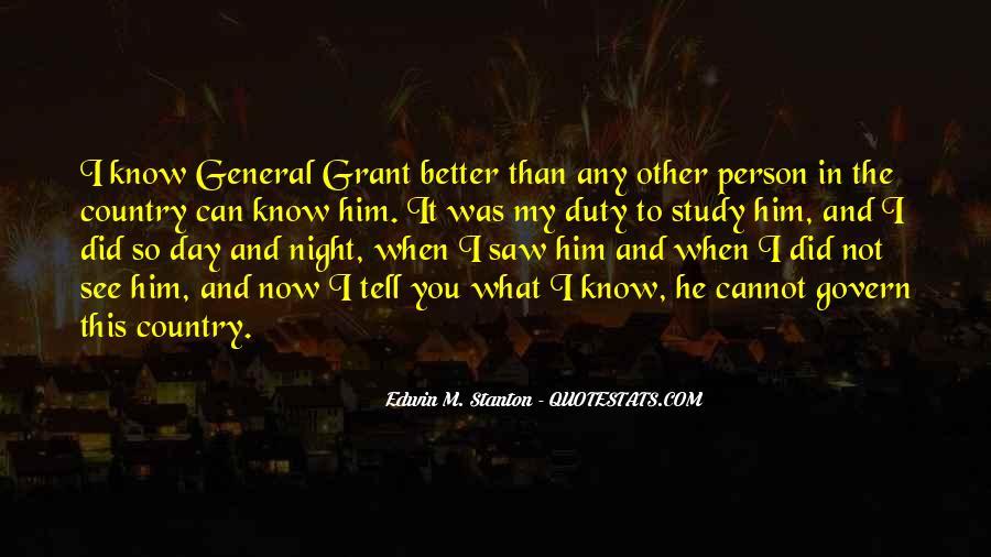 Edwin M. Stanton Quotes #97696