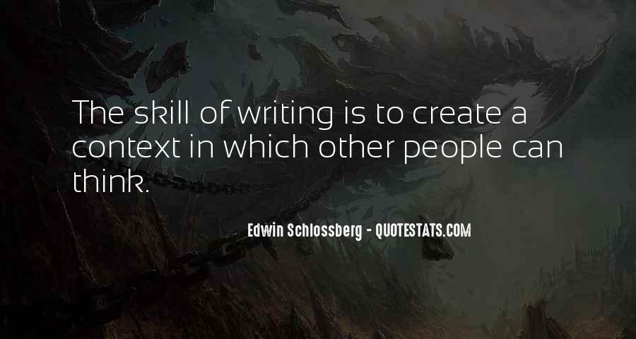Edwin Schlossberg Quotes #1193282