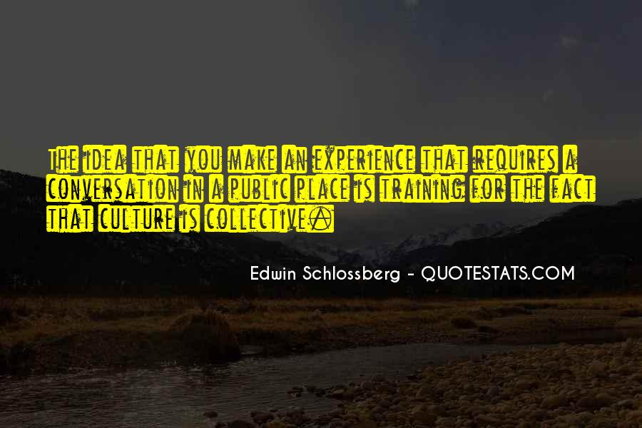 Edwin Schlossberg Quotes #978885