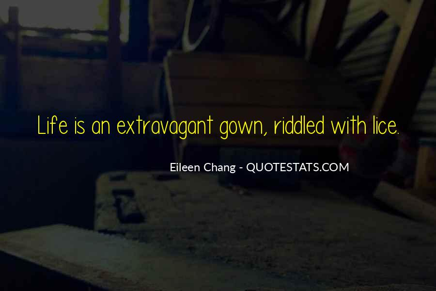 Eileen Chang Quotes #1768018