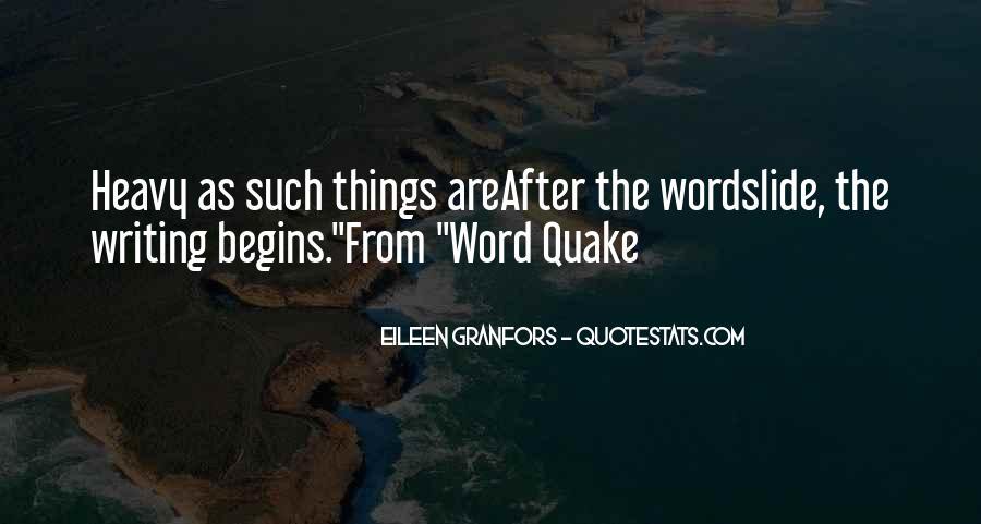 Eileen Granfors Quotes #1838980