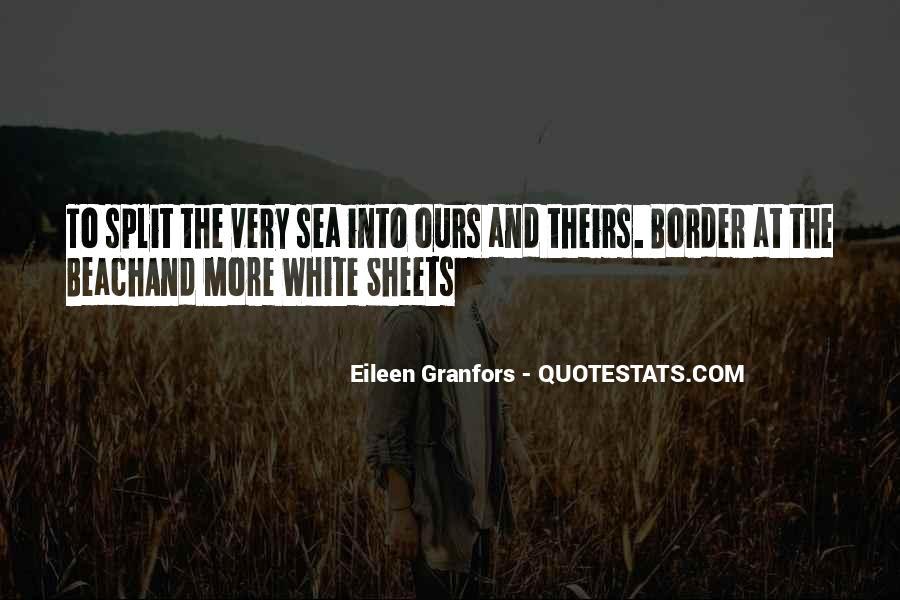 Eileen Granfors Quotes #29214