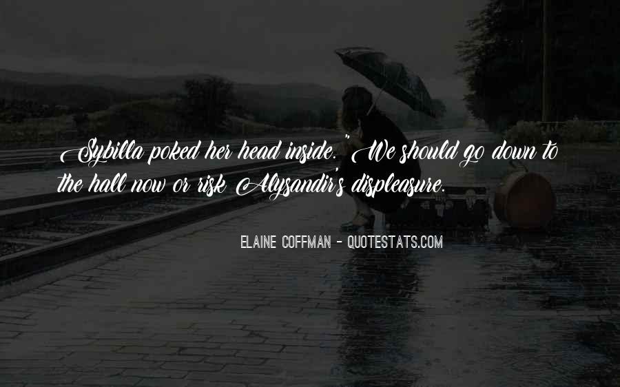 Elaine Coffman Quotes #945773