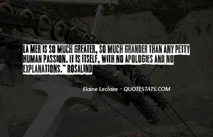 Elaine Leclaire Quotes #1397777
