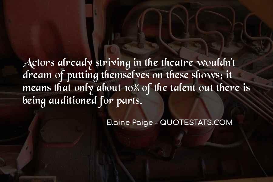 Elaine Paige Quotes #1840150