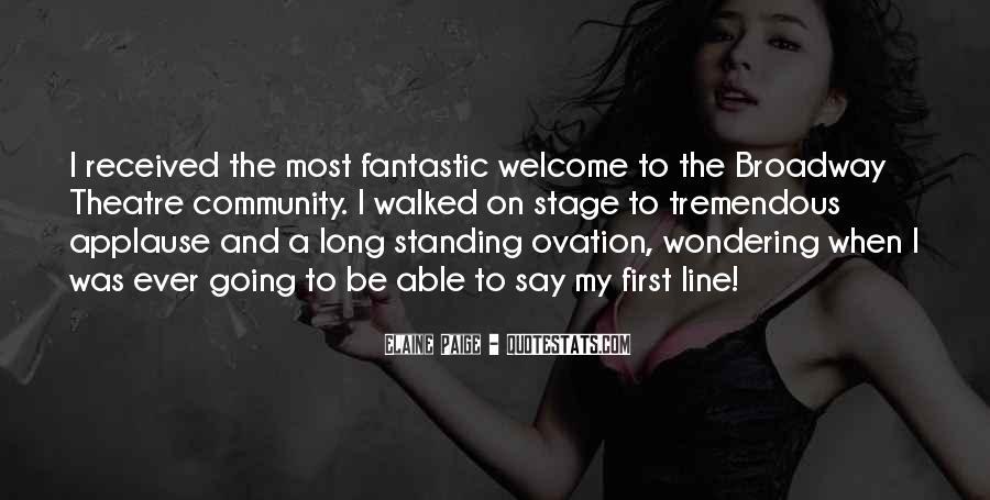 Elaine Paige Quotes #228800