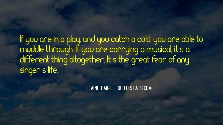 Elaine Paige Quotes #648797